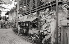 Back lane of Chiangmai (denise yeap) Tags: mjuii olympus analog analogue 135 film