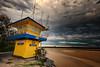 Noosa beach (Pat Charles) Tags: noosa noosaheads queensland australia brisbane sunshinecoast beach sea ocean pacific dawn morning sunrise early sand clouds lookout lifesaver lifesaving point nikon travel tourism