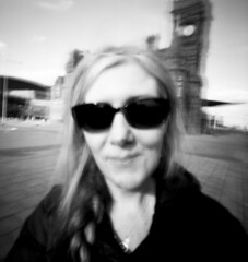 Pinhole_Portraits #2 (Andrew Bartram (WarboysSnapper)) Tags: rss realitysosubtle ilford hp5 tanol stainingdeveloper portraits pinhole 6x6f 2018 cardiff handheld shootpinholesbenice believeinfilm