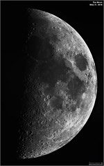 First Quarter Moon - May 21, 2018 (The Dark Side Observatory) Tags: tomwildoner night sky space outerspace skywatcher telescope esprit 120mm apo refractor celestron cgemdx asi190mc zwo astronomy astronomer science canon crater moon lunar weatherly pennsylvania observatory darksideobservatory leisurelyscientist leisurelyscientistcom tdsobservatory solarsystem may 2018 firstquarter
