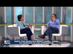 Maria Lydia entrevista Renato Simões, coord. da campanha de Lula à Presidência (portalminas) Tags: maria lydia entrevista renato simões coord da campanha de lula à presidência