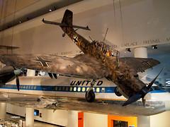 ChicSciMus_019_Stuka (AgentADQ) Tags: museum science industry chicago illinois 2018 airplane aviation plane transportation gallery junkers ju87 stuka dive bomber