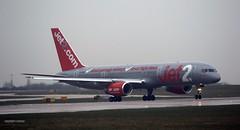Jet2 G-LSAA J78A0845 (M0JRA) Tags: jet2 glsaa manchester airport planes flying jets biz aircraft pilot sky clouds runways
