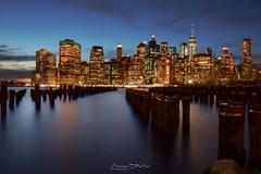 Manhattan Lights (marinas8) Tags: nikon d5300 manhattan newyork lights night skyline city sky