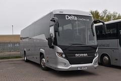 Delta Coaches - YN18AVG (Transport Photos UK) Tags: scania stockton delta coaches teesside adamnicholsontransport photos uk transport adamnicholson