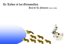 Le Lièvre et les Grenouilles - Jean de La Fontaine (1621-1695) (Magic Fingaz) Tags: barthdunkan coelho conejo hase kelinci konijn králičí królik lièvre nyúl rabbit tavşan κουνέλι зец кролик खरगोश 토끼 ウサギ 兔子 hare