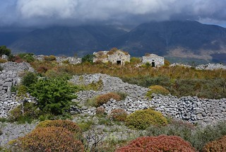 Byzantine churches and ruins at Ano Poula