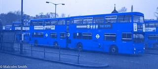 West Croydon Bus Station - October 1974