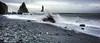 Pounding Away (RoamingTogether) Tags: atlanticocean europe hdr iceland nikon nikon20mm28 nikond700 ocean reynisfjara
