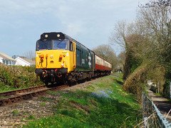 50042 Crabtree Lane, Bodmin (Marky7890) Tags: 50042 class50 diesel locomotive heritage bodmin bodminwenfordrailway cornwall train