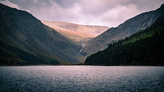 Upper Lake - Glendalough, Ireland - Landscape photography (Giuseppe Milo (www.pixael.com)) Tags: photo glendalough landscape ireland nature mountains outdoor lake clouds travel forest photography wicklow sky europe geotagged upper countywicklow ie onsale