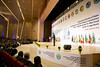 Heads of State and Government Summit of the Congo Basin Commission | Brazzaville, 29 April 2018 (Paul Kagame) Tags: kagame denis sassou nguesso rwanda congo africa au basin