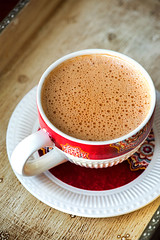 Chai | Indian Milk Tea | Doodh Cha (Rimli D) Tags: foodstyling foodphotography foodblog foodpicture foodblogger foodporn food chai tea milktea indiantea indianfood indianstaples bengalifood moodyshot nikkor nikon froth foam bubble
