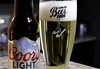 Funny Beer Glass. 3 (Leica XV) (Mega-Magpie) Tags: leica x vario beer drink food funny glass coors light indoors