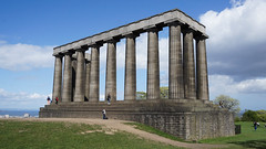 National Monument of Scotland (p.mathias) Tags: history historical edinburgh europe scotland uk unitedkingdom caltonhill monument sony a5100