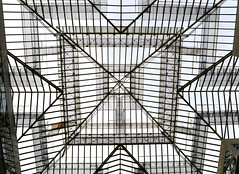 The glass roof (RapidSpin) Tags: symmetrical shapes roof glass design square abstracts