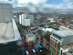 View from Penthouse of Belfast Europa Hotel (John D McDonald) Tags: belfast northernireland ni ulster geotagged iphone appleiphone iphone7plus appleiphone7plus city cityscape