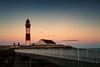 Buchan Ness Lighthouse (GenerationX) Tags: aberdeenshire banffandbuchan barr boddam buchanness buchannesslighthouse canon6d neil northsea scotland scottish birds bridge clouds house island landscape lighthouse sea seagulls sky stripes water