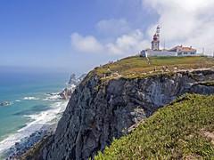 Cabo da Roca, Sintra (Distrito de Lisboa, Portugal) (Miguelanxo57) Tags: cabo mar faro atlántico cabodaroca sintra lisboa portugal acantilado nwn