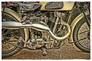 1933 Calthorpe 500cc Twin with Swallow Sidecar.