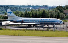Finnair Sud Aviation SE-210 Caravelle III OH-LSB (Planes Spotter And Aviation Photography By DoubleD) Tags: french aircraft plane sud aviation se210 caravelle stockholm arlanda arl essa liners finnair sweden spotters spotting museum canon eos vintage rare old