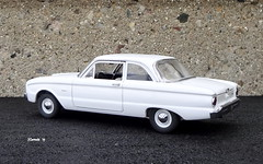 1960 Ford Falcon 2dr Sedan (JCarnutz) Tags: 124scale diecast franklinmint 1960 ford falcon