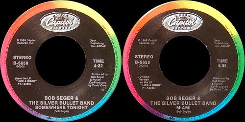 Bob Seger The Silver Bullet Band fan photo