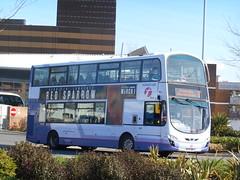 First Cymru 'Horace Iles' 36210 (Welsh Bus 18) Tags: first cymru volvo b9tl wright eclipse gemini 2 36210 bj12vws swansea olympicgamesshuttle leeds horaceiles