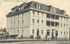 Minnedosa - Tremont House, 1909 (vintage.winnipeg) Tags: manitoba canada vintage history historic minnedosa