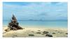 Wurzel / Root (Sam H. Maas) Tags: strand beach landschaft landscape natur nature meer sea meerespanorama seascape sand baumwurzel steine stone wasser water abandoned blau blue