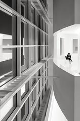 Theater (dietmargötte) Tags: germany bw monochrom urban city travel building interior blackandwhitephotography architecturlovers architektur bnw theater