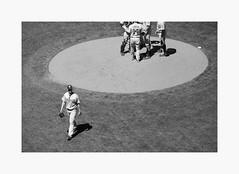 Voted Off The Island (bnishimoto) Tags: att sanfrancisco baseball bayarea fujifilm fuji acros blackandwhite monochrome people stadium sport xpro2 50230mm