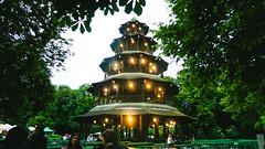 Chinesischer Turm.. or Christmas Tree? (André Moecke) Tags: chinesischerturm christmastree xmas englischergarten munich munchen biergarten