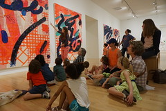 Arturo's Art & Me, 2018.5 (Center for Creative Connections) Tags: dma dallasmuseumofart art artmaking contemporary creativity kids preschoolers early learning fun play painting paintings lauraowens