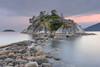 Whyte Island (halsaxm) Tags: westvancouer whyteisland britishcolumbia bc canada evening bluehour water rocks stones horseshoebay landscape nature shore rocky sunset
