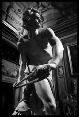 David (albireo 2006) Tags: rome roma italy italia bernini david galleriaborghese blackwhitephotos blackandwhite blackandwhitephotos blackwhite bw bn