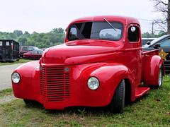 Old International Pickup Truck (J Wells S) Tags: internationalpickuptruck internationalharvester international streetrod hotrod cincystreetrodscarshowandswapmeet butlercountyfairgrounds hamilton ohio oldschool