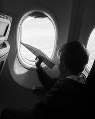 (Eirik Holmøyvik) Tags: sony zeiss sonya7r2 airplane dream paperplane boy window sky flight general zf2 distagont228