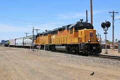 Job 21 (BravoDelta1999) Tags: unionpacific up railroad southernpacific sp railway arizonaeastern ae harrisonstreet yard phoenix arizona emd gp402 1340 1508 manifest train ghead signal