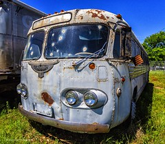 Abandoned Coach Bus (Kool Cats Photography over 10 Million Views) Tags: bus rust rusty vehicle old oklahoma abandoned neglected