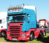 MacTaggart Brothers Scania R730 SN17WDF Peterborough Truckfest 2018 (davidseall) Tags: mactaggart brothers scania vabis r730 sn17wdf sn17 wdf truck lorry tractor unit artic large heavy goods vehicle lgv hgv peterborough truckfest show may 2018 v8