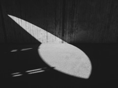 The light (Erik Viggh) Tags: bnw blackandwhite lightroom light concrete olympus e520