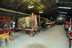 LOX_9479 (LoxPix2) Tags: australia nsw quirindi quirindiruralheritagevillage farmmachinery tractor tractorpull tractionengines steam loxpix truck tools rabbittrap bicycle outboardmotor boat