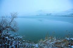 Lakeside in snowfall (Raoul Pop) Tags: winter somewhere transilvania romania ro