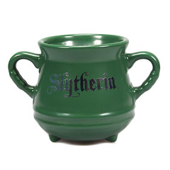 Taza Caldero Escudo Slytherin (Acero y Magia) Tags: taza caldero hogwarts harrypotter slytherin mug tazas vajilla friki tienda españa coffeecorner