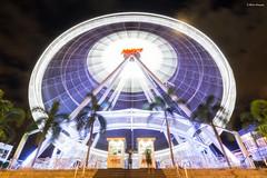 Never stops (alexpekone) Tags: wheel bangkok fun thailand night nightshot bynight asia amusement park amusementpark longexpo long exposure longexposure nikon travel landscape trees lights fast