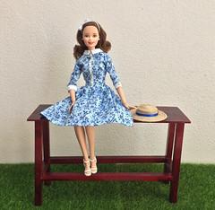 New Table (jenniffervalverde) Tags: barbie diorama madetomove handmade dress scale16