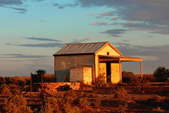 abandoned shed2 (thrift2012) Tags: sunset shed rural decay silverton nsw out outback