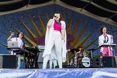 Sweet Crude at the New Orleans Jazz and Heritage Festival on Sunday, April 29, 2018
