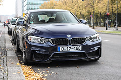 Germany Diplomatic (USA) - BMW M3 F80 2016 (PrincepsLS) Tags: germany german diploamtic license palte 17 usa berlin spotting bmw m3 f80 2016